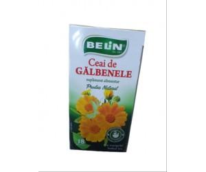 PACHET CEAI DE PLANTE BELIN GALBENELE 18PLICULETE / CUTIE