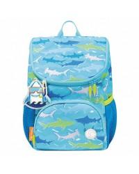Ghiozdan Mini Little Travelers Plus, motiv Blue Aquarium, Tiger Family