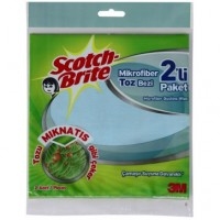 LAVETE USCATE MICROFIBRA SCHOTCHBRITE 2 BUC/SET