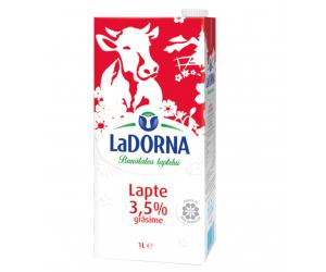 CUTIE LAPTE UHT LA DORNA 1 LITRU GRASIME 3.5%