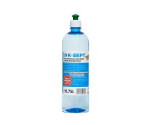DEZINFECTANT MAINI SOLUTIE HIDRO-ALCOOLICA K-SEPT 750 ml