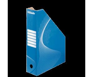 Suport vertical Esselte Standard, pentru documente, carton, A4, albastru
