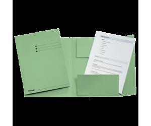 Dosar tip plic Esselte, carton, A4, verde deschis
