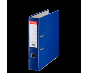 Biblioraft Esselte Economy, PP, A4, 75 mm, albastru