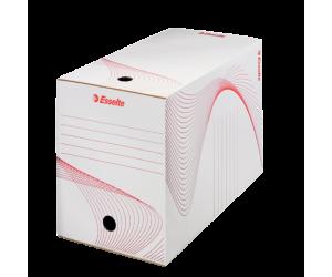 Cutie depozitare si arhivare Esselte Standard, carton, 200 mm, alb