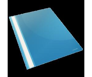 Dosar cu sina Esselte VIVIDA, PP, A4, 160 coli, 25 buc/set, albastru