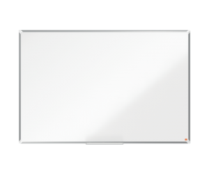Tabla NOBO Premium Plus, otel lacuit, 150x100 cm, magnetica, include marker si tavita, alb