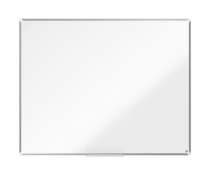 Tabla NOBO Premium Plus, otel lacuit, 150x120 cm, magnetica, include marker si tavita, alb