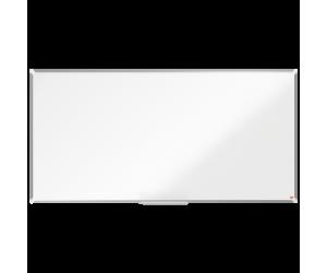 Tabla NOBO Premium Plus, otel lacuit, 180x90 cm, magnetica, include marker si tavita, alb