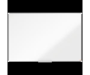 Tabla NOBO Premium Plus, otel lacuit, 180x120 cm, magnetica, include marker si tavita, alb