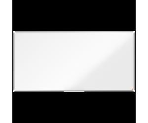 Tabla NOBO Premium Plus, otel lacuit, 200x100 cm, magnetica, include marker si tavita, alb
