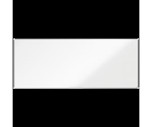 Tabla NOBO Premium Plus, otel lacuit, 300x120 cm, magnetica, include marker si tavita, alb