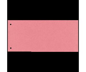 Separatoare Esselte, carton cu 2 perforatii, 100 buc/set, rosu