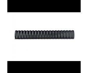 Spira legare documente GBC, plastic, A4, 21 inele, 32 mm, 280 coli, 100 buc/set, negru