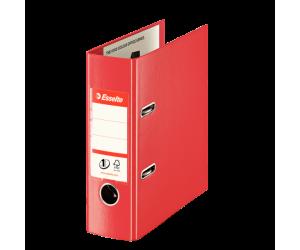 Biblioraft Esselte No.1 Power VIVIDA, PP/PP, A5, 75 mm, rosu