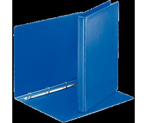 Caiet mecanic Esselte Panorama, PP/PP, A4, mecanism 4RR, inel 16 mm, albastru