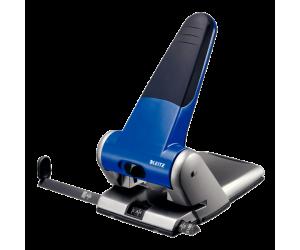 Perforator metalic Leitz 5180 de mare capacitate, 65 coli, albastru