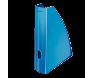 Suport vertical Leitz WOW, pentru documente, PS, A4, albastru