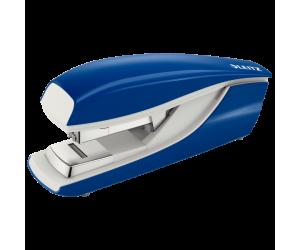 Capsator metalic Leitz 5523 NeXXt Series, 40 coli, capsare plata, 200 capse p4 incluse, albastru