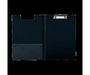 Clipboard Esselte dublu, PP, A4, 200 coli, negru