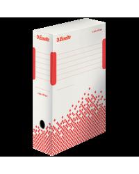 - delistat - Cutie depozitare si arhivare Esselte Speedbox, carton, 100 mm, alb