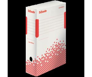 Cutie depozitare si arhivare Esselte Speedbox, carton, 100 mm, alb