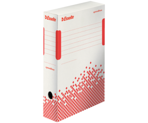 Cutie depozitare si arhivare Esselte Speedbox, carton, 80 mm, alb