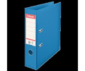 Biblioraft Esselte No.1 Power VIVIDA, PP/PP, A4, 75 mm, albastru