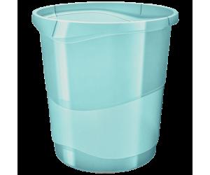 Cos hartii Esselte Colour'Ice, PP, 14l, albastru