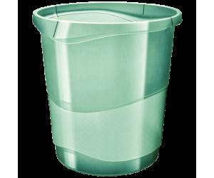 Cos hartii Esselte Colour'Ice, PP, 14l, verde