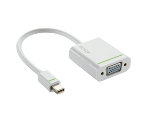 Adaptor Leitz Complete, Mini Display la VGA, alb