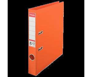 Biblioraft Esselte No.1 Power, PP/PP, A4, 50 mm, portocaliu
