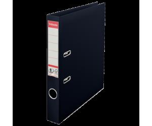 Biblioraft Esselte No.1 Power VIVIDA, PP/PP, A4, 50 mm, negru