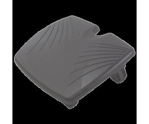 Suport ergonomic Kensington SoleRest, pentru picioare, inclinatie ajustabila, negru