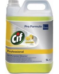 Detergent universal, Lemon Fresh, Cif Professional, 5L