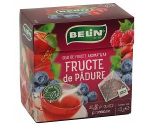 PACHET CEAI FRUCTE DE PADURE BELIN 20PLICULETE / CUTIE