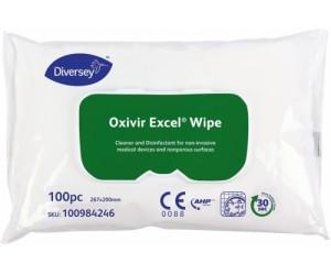 Servetele umede dezinfectante virucide RTU Diversey OXIVIR Excel Wipe 100buc/pachet