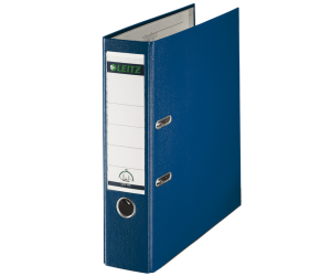 Biblioraft Leitz 180°, PP, A4, 80 mm, albastru