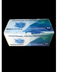 MASCA FACIALA UNICA FOLOSINTA 3 STRATURI CU LAMELA SIMPLA 50 BUC/CUT