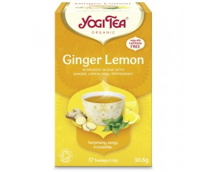 Ceai Yogi Tea Bio GHIMBIR si LAMAIE 17 pliculete / cutie